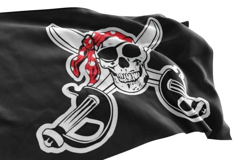 Pavillon Noir Pirate - Jolly Roger