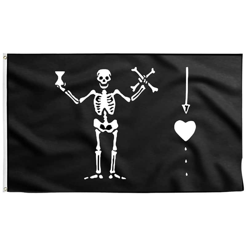 Pavillon Pirate Célèbre - Jolly Roger