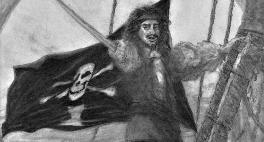 Pavillon Pirate Emmanuel Wynne - Jolly Roger
