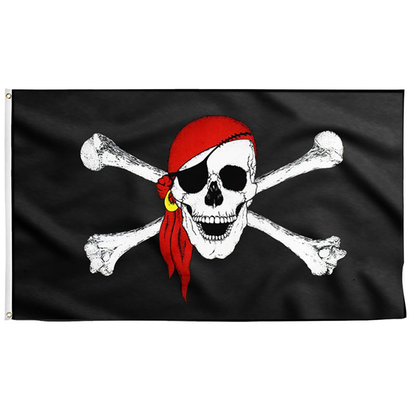 Pavillon Pirate - Jolly Roger