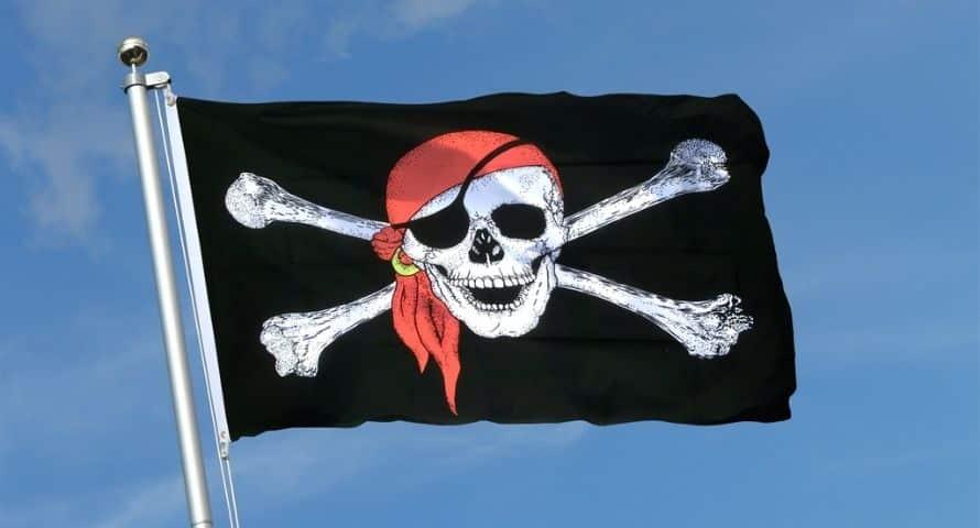 Pavillon Pirate - Pirate Pavillon - Pavillon de Pirate - Jolly Roger