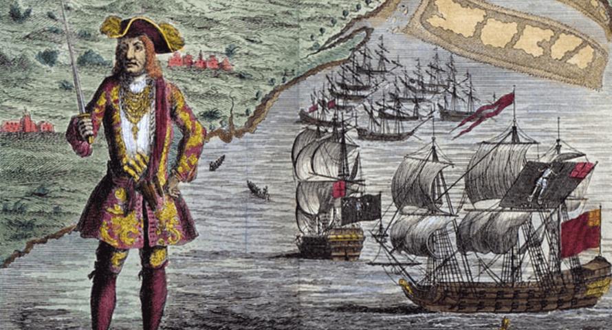 Pirate Bartholomew Roberts - Jolly Roger