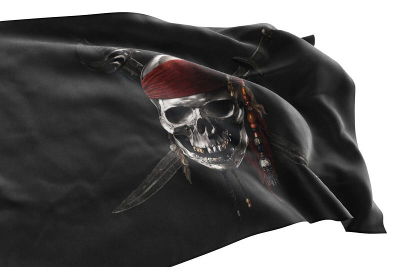 Pirate des Caraïbes Drapeau - Jolly Roger
