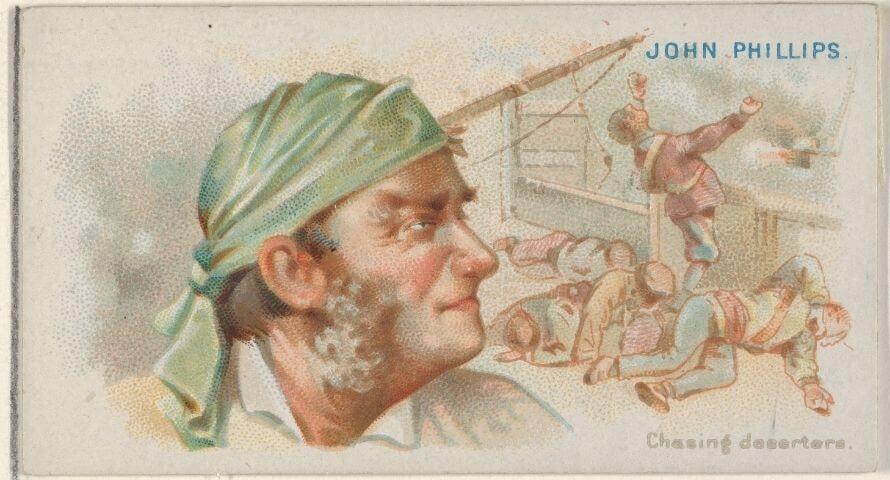 Pirate John Phillips - Jolly Roger