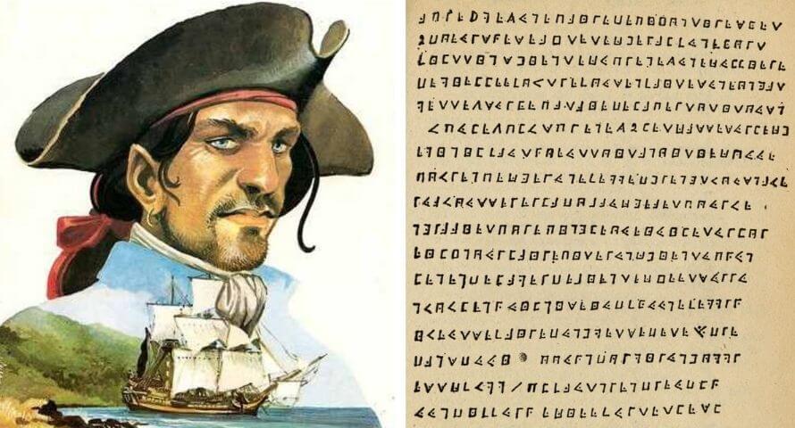 Pirate Olivier Levasseur - La Buse - Cryptogramme du trésor
