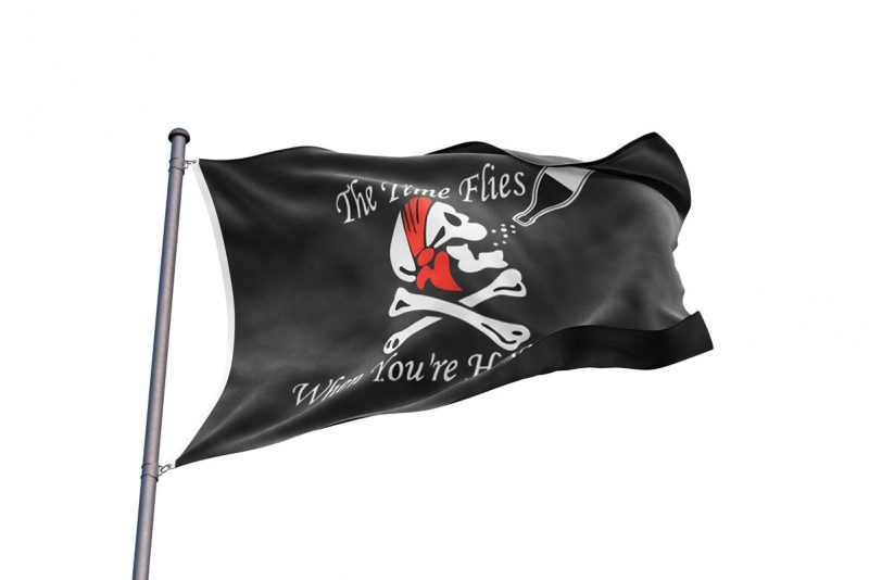 Pirates Drapeau Rhum - Jolly Roger