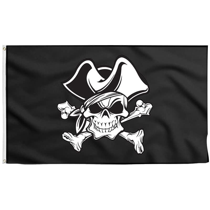 Tête de Mort Drapeau Pirate - Jolly Roger