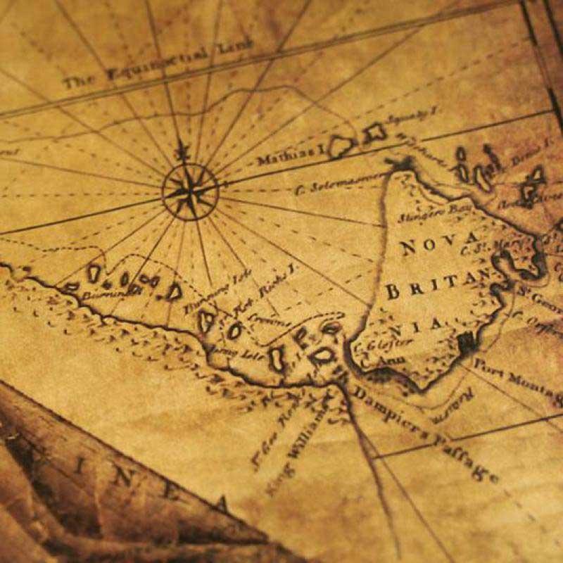 carte au trésor bateau pirate