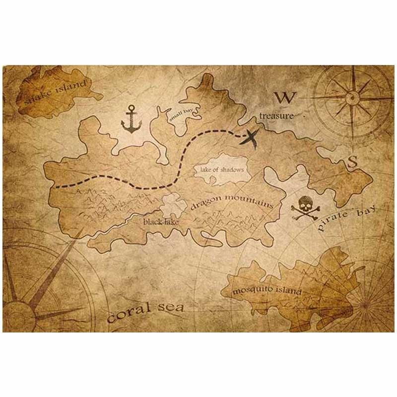 Carte au Trésor de Pirate - Jolly Roger