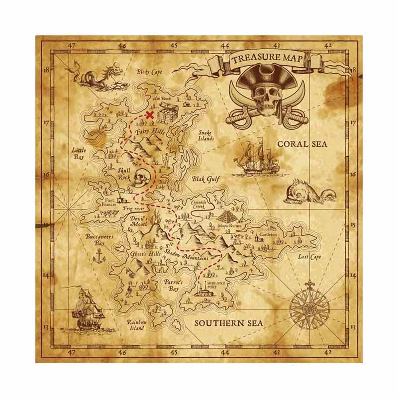 Carte de Pirate - Jolly Roger
