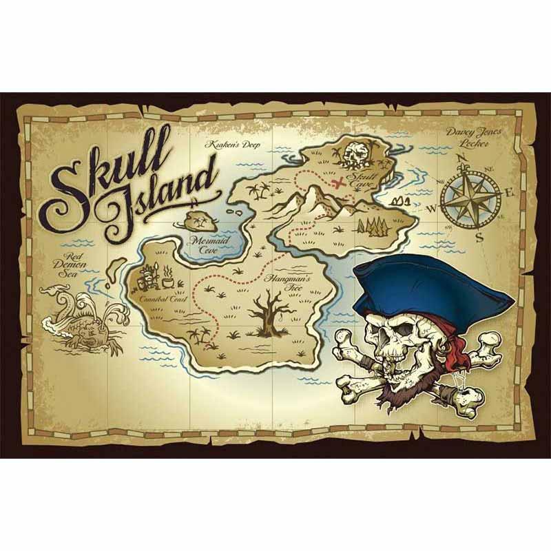 Carte de Trésor - Jolly Roger