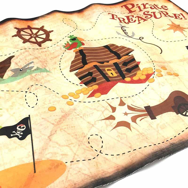 carte pour chasse au trésor pirate