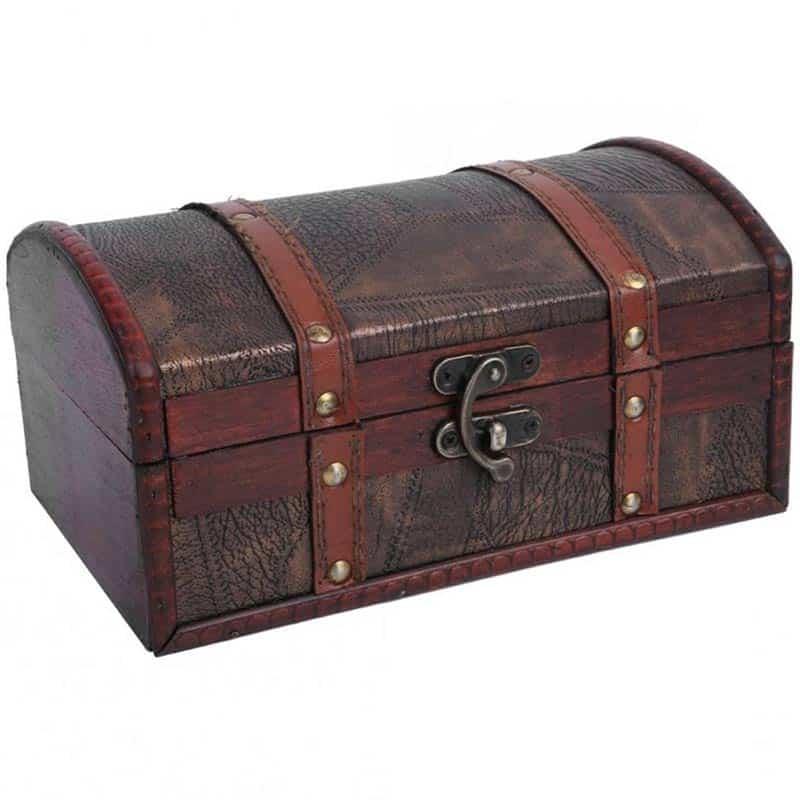 Coffre à Trésor Pirate des Caraïbes - Coffre Pirate - Jolly Roger