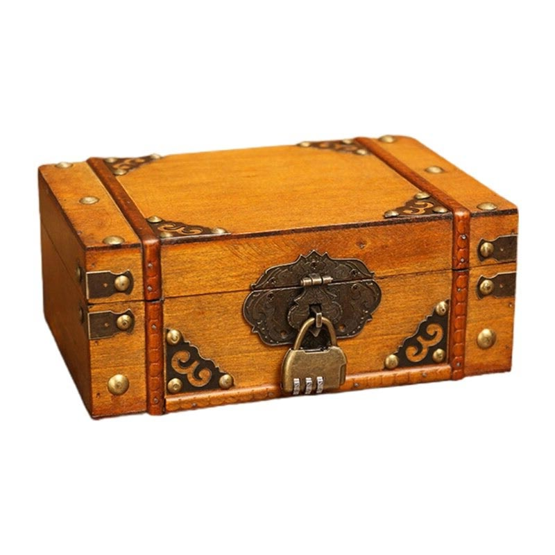 Coffre Bois Style Pirate - Coffre Pirate - Jolly Roger