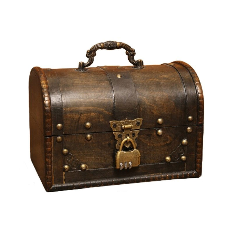 Coffre Fort Pirate - Jolly Roger