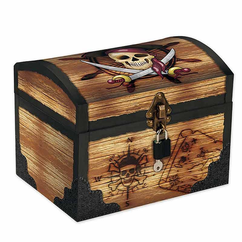 Coffre Pirate Carton - Coffre Pirate - Jolly Roger