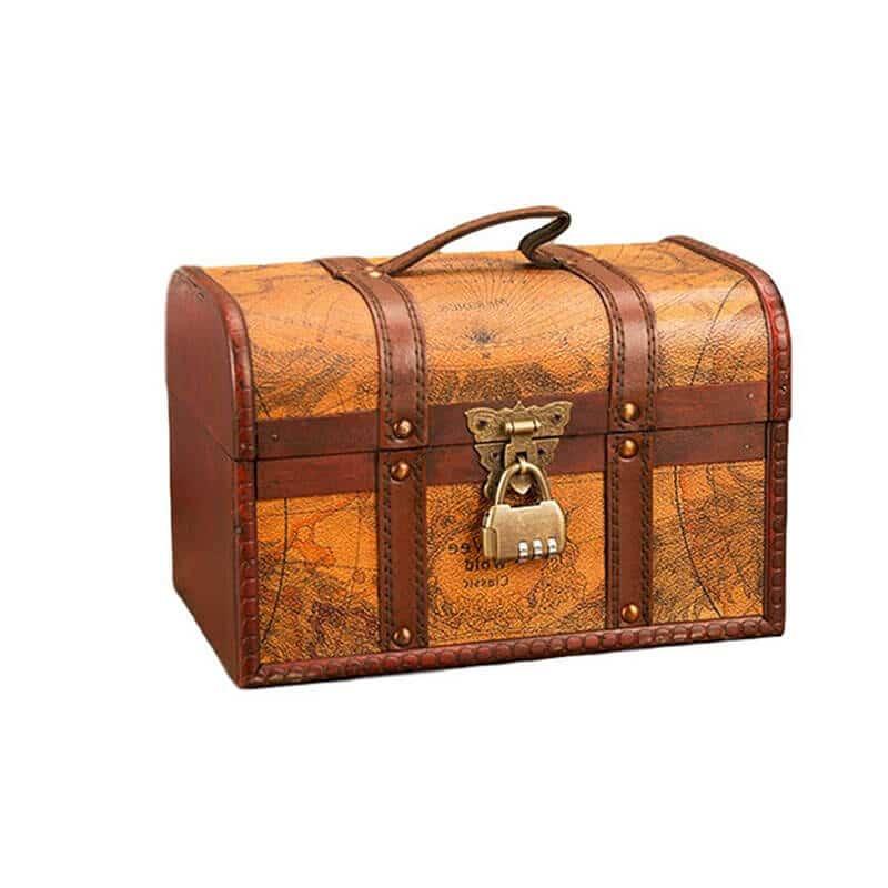 Coffre Pirate de Voyage - Coffre Pirate - Jolly Roger