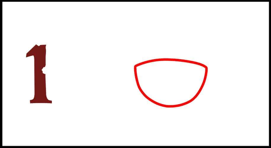 Comment dessiner le drapeau de Luffy en étape