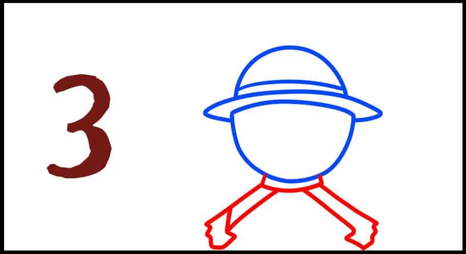 Comment dessiner le drapeau de one piece