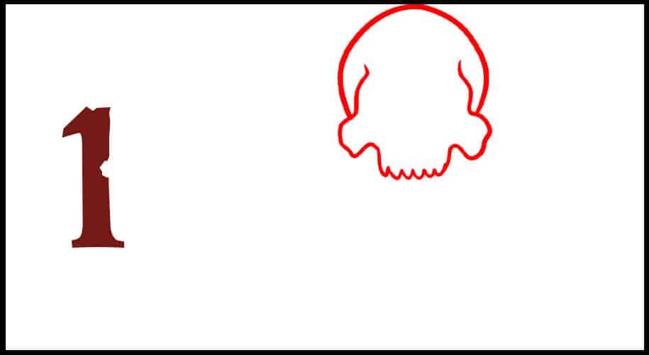 Comment dessiner un drapeau de pirate ?