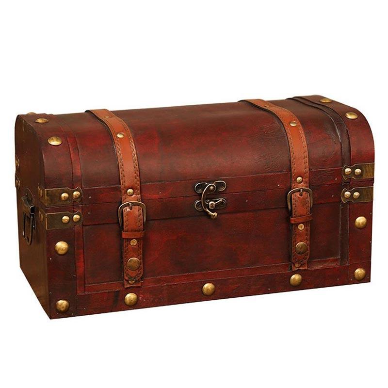Décoration Coffre de Pirate - Coffre Pirate - Jolly Roger