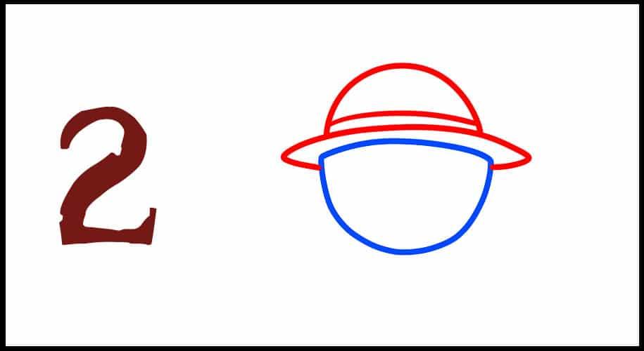 Dessin drapeau one piece