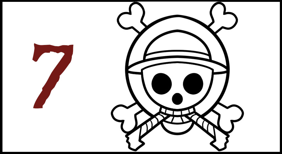 Dessin Drapeau Pirate One Piece