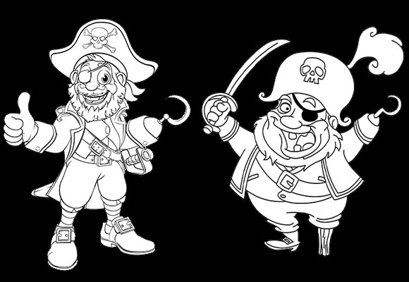 Dessin Pirate - Jolly Roger