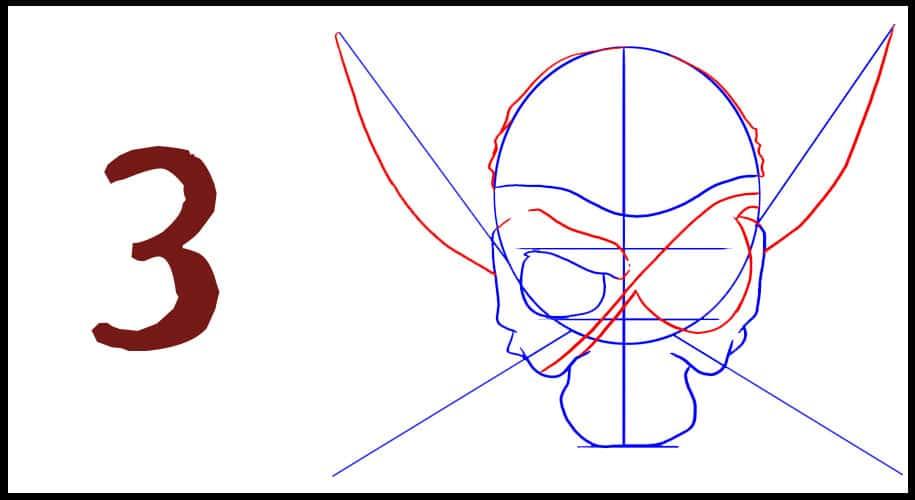 Drapeau de Pirate Facile à dessiner