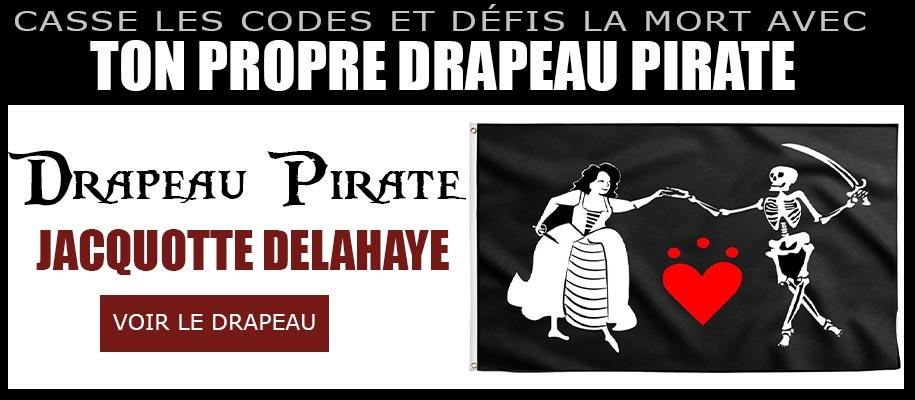 Drapeau de Jacquotte Delahaye