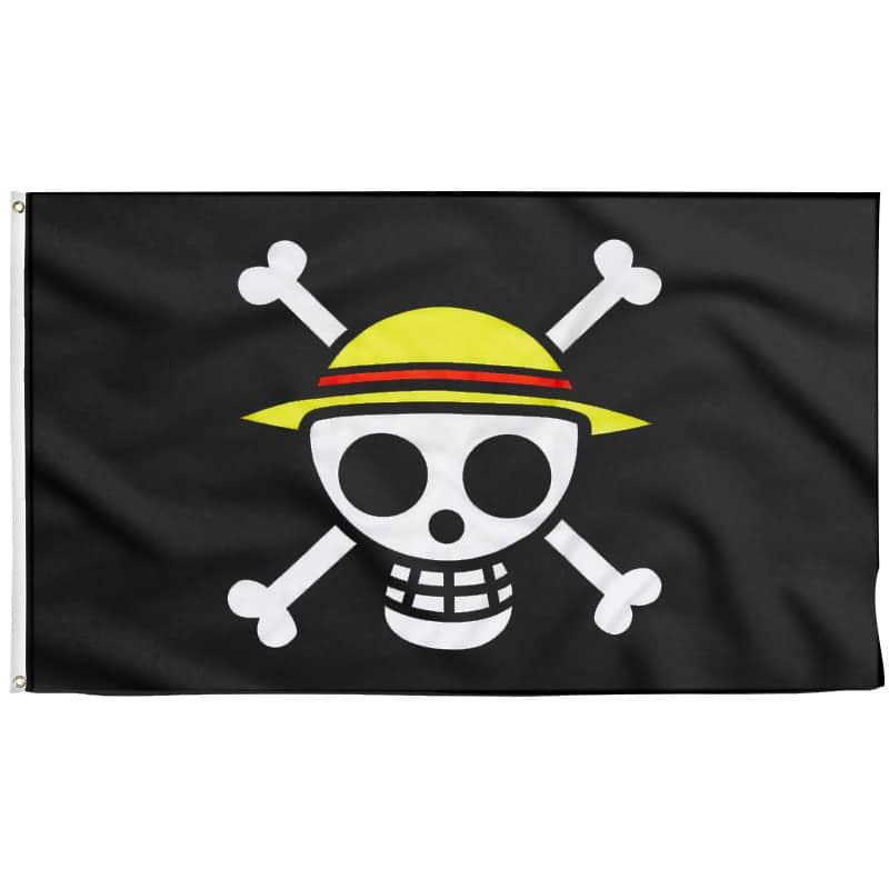 Drapeau Pirate de Luffy - Drapeau Pirate - Jolly Roger