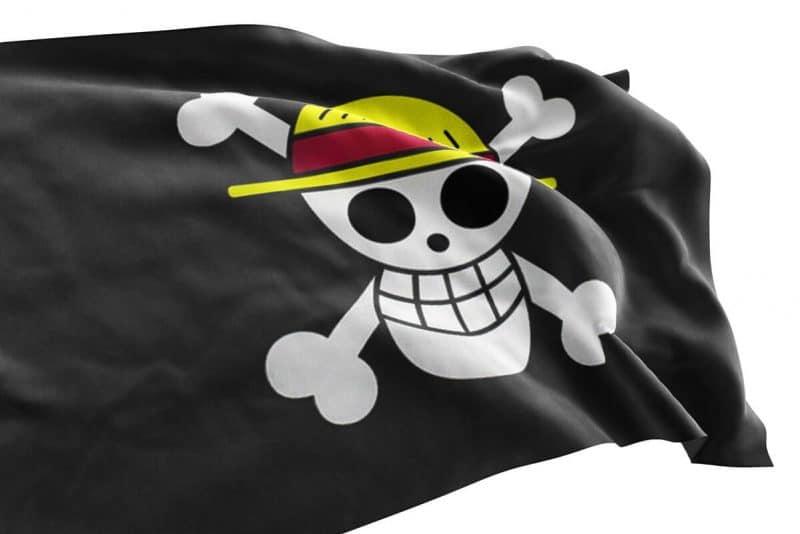 Drapeau pirate Luffy - One piece - Jolly Roger