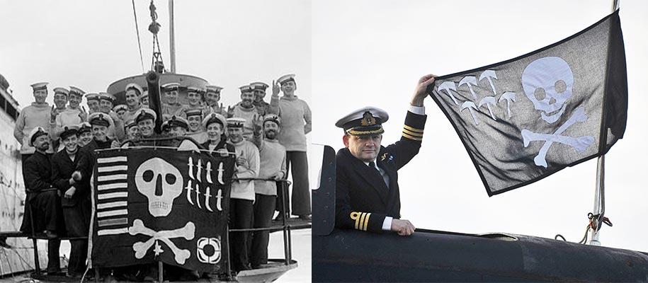 Drapeau Pirate Marine Anglaise