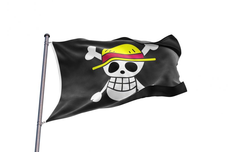 Drapeau Pirate One Piece Luffy - One piece - Jolly Roger