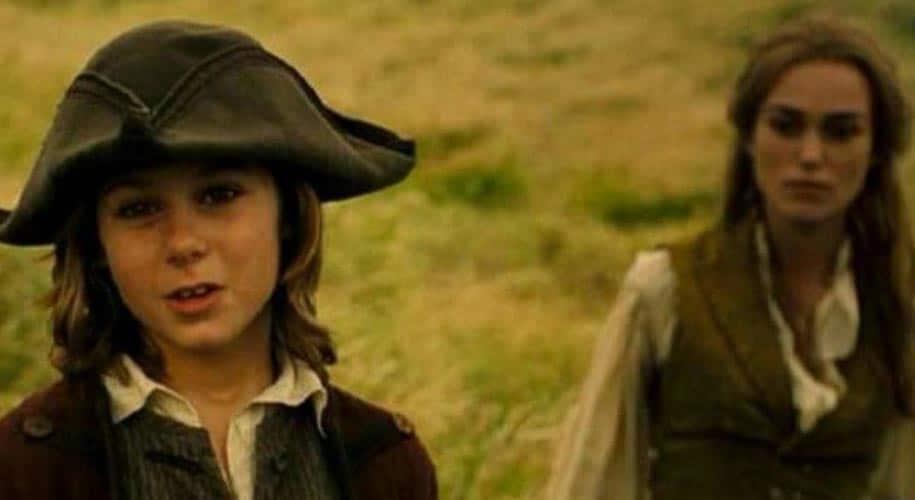 Elizabeth Swann Turner et son fils Henry Turner