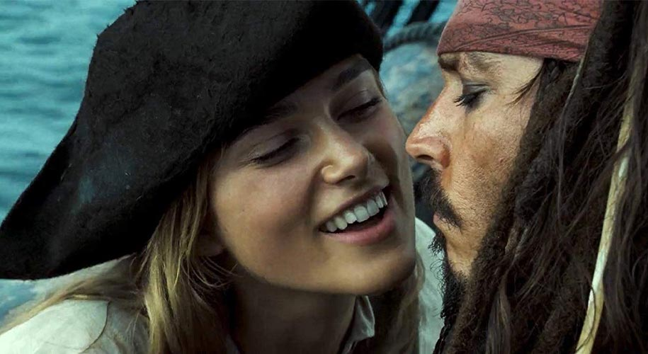 Elizabeth Swann drague Jack Sparrow
