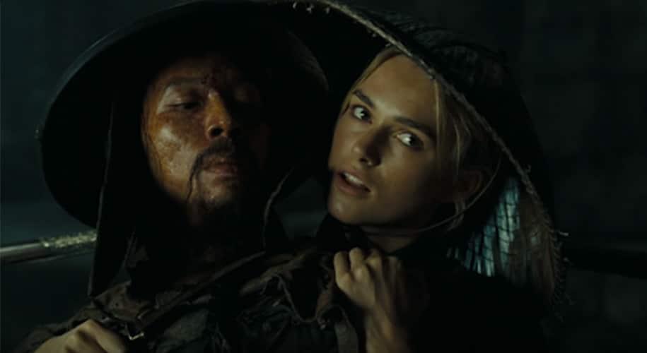 Elizabeth Swann menca Sao Feng