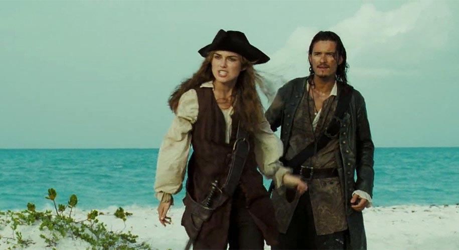 Elizabeth Swann personnage de Pirates des Caraibes