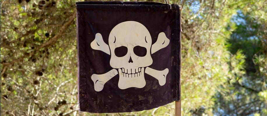 Fabriquer un drapeau pirate