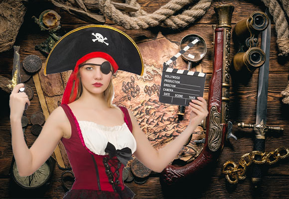 Film et série pirate - Jolly Roger
