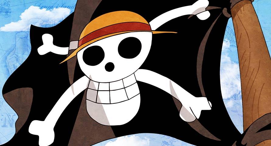 Luffy Drapeau - Jolly Roger