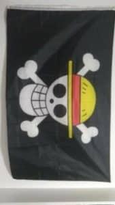 Drapeau Pirate de Luffy (One Piece) photo review