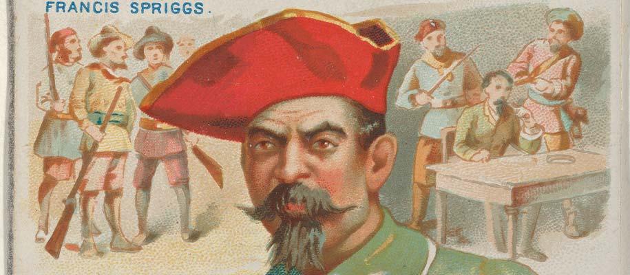 Pirate Francis Spriggs
