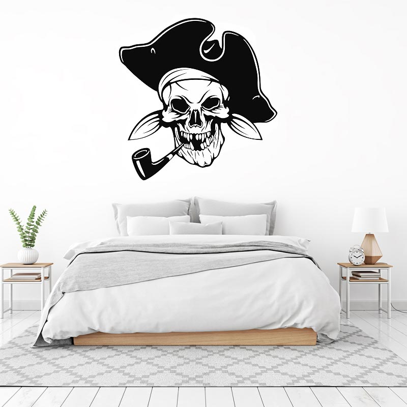 Pirate Stickers - Jolly Roger