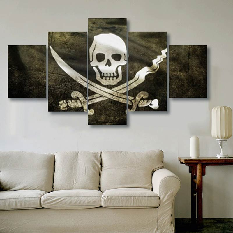Pirate Tableau - Jolly Roger