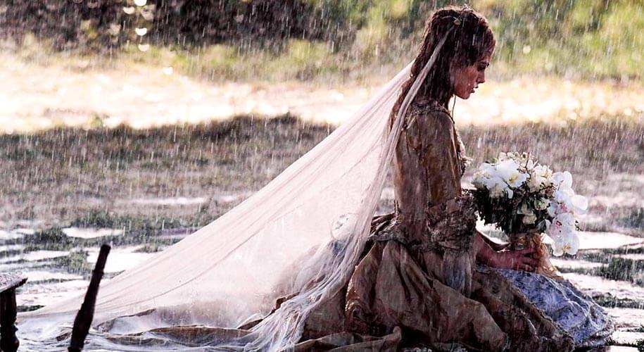 Robe Elizabeth Swann Mariage interrompu avec Will Turner