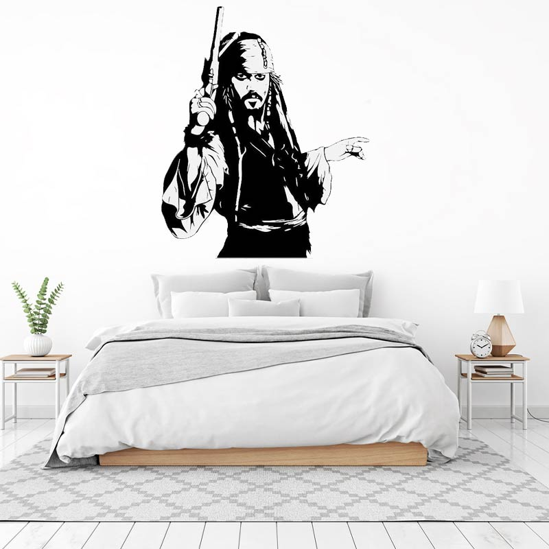 Stickers Jack Sparrow - Jolly Roger