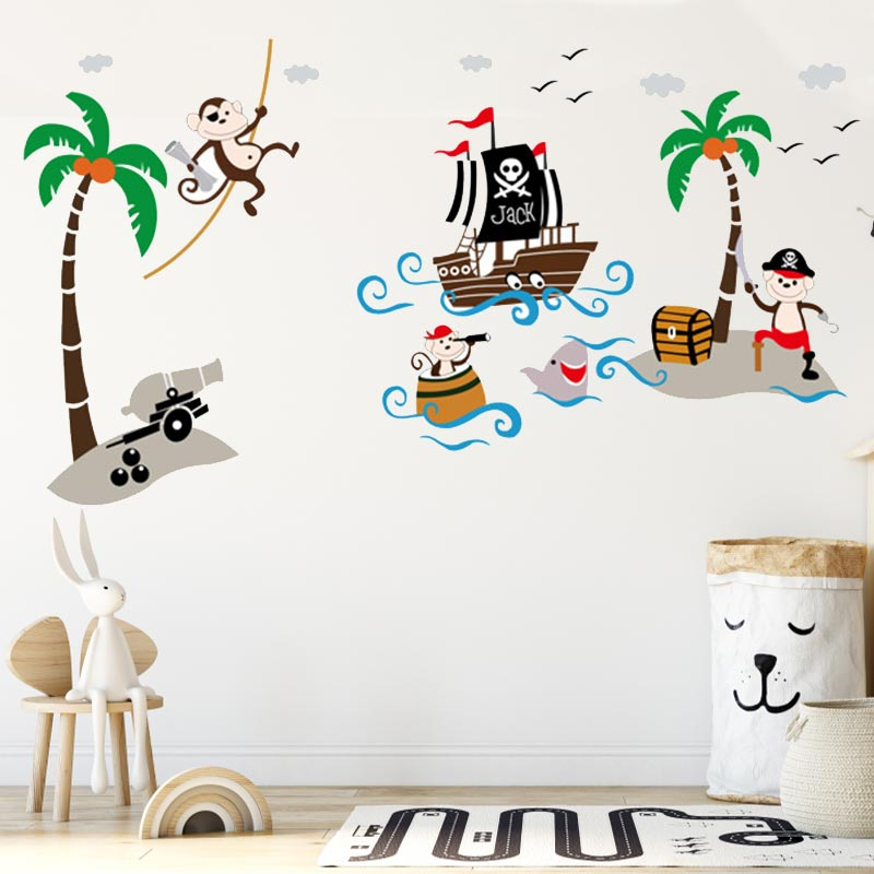 Stickers Singe Pirate - Jolly Roger