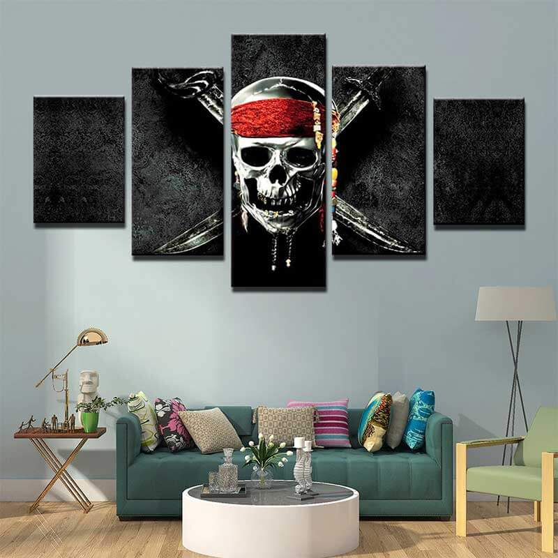 Tableau Pirate des Caraibes - Jolly Roger