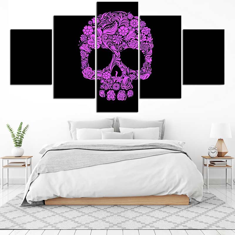 Tableau Skull Pirate - Jolly Roger